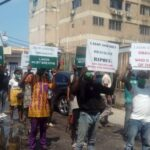 Protesters Storm EFCC Office, Submit Petition Against Lagos Speaker, Obasa