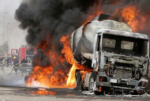 See Photos of 19 Vehicles Burnt In Niger State [Tanker Explosion]