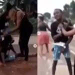 3 Female Friends Beat Up A Man Secretly Dating All Of Them — (watch video)