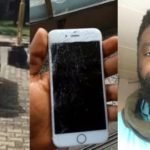 Viral Video of Nigerians cursing man for recording video of a police woman who smashed his phone and tore his shirt