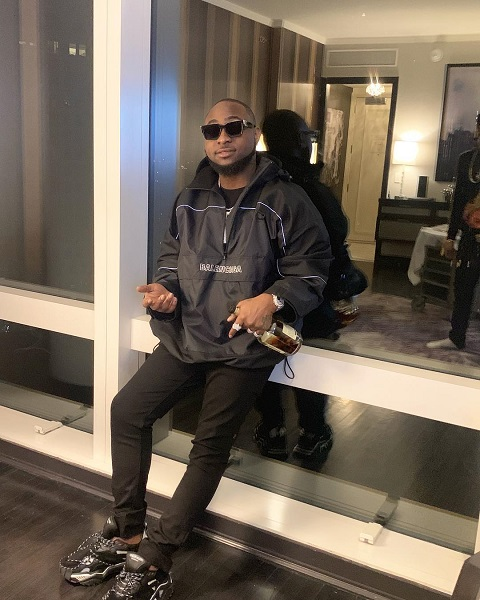 Davido reaches 10m followers in Instagram