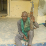 Suspected armed bandit arrested in Niger state (photo)