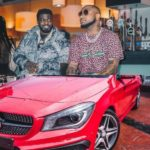 Davido Buys New Mercedes Benz for His PA – Lati Biola (See Pic)
