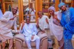 Photo Of President Buhari and His Family