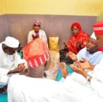 Governor of Kano Visits Lady Who Lost One Of Her Eyes During Election