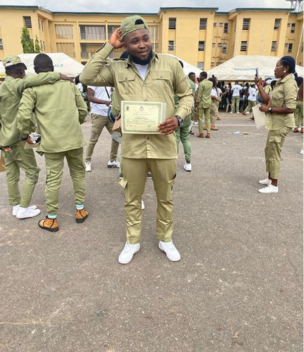 Finally Chinko Ekun Complete His NYSC