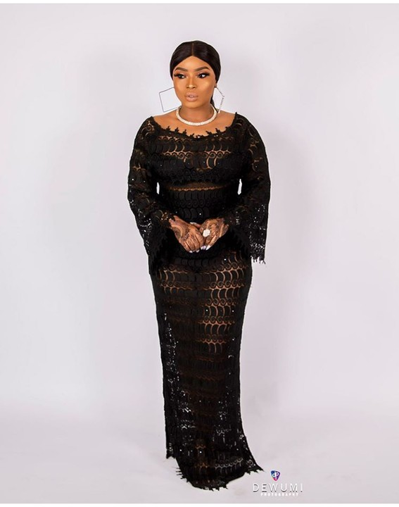 Actress Halima Abubakar Rocks Transparent Outfit To Celebrate Her 34 th Birthday