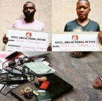 Alleged Photos of Yahoo Boys Caught By EFCC