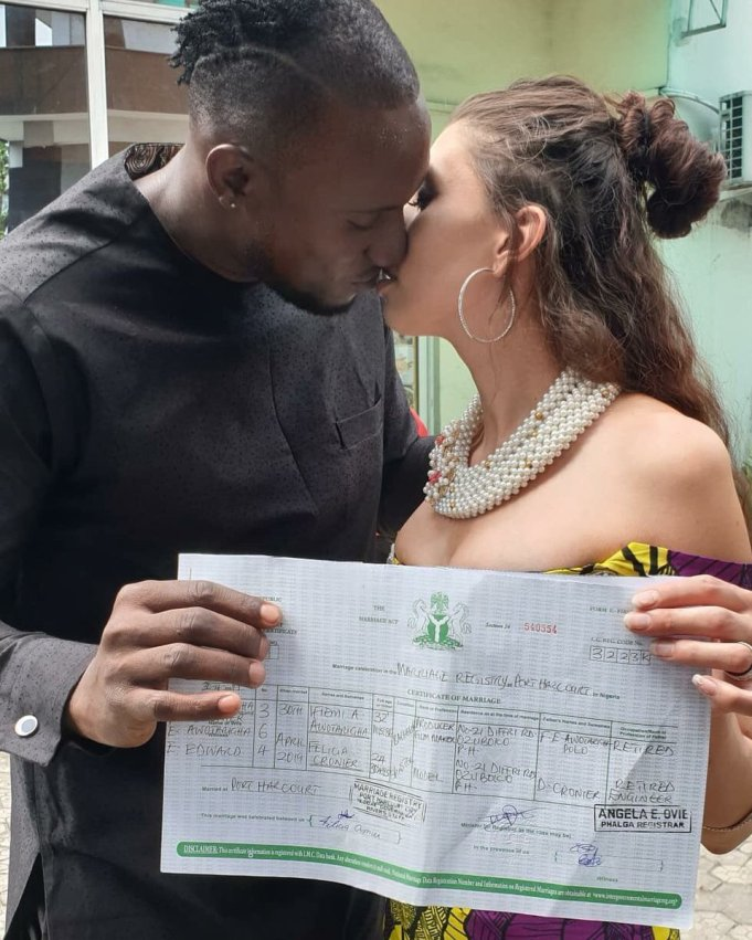 Big Brother Naija Angel Finally See Out Girlfriend In Marriage