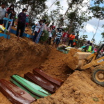 CCTV-Camera Shows Mass Graves Being Dug In Brazil As Deaths Surge Due To Coronavirus ....(video)