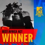Burna Boy Wins The Best African Artist Award @MTV EMA 2019