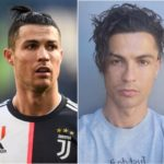 Juventus Star Player, Cristiano Ronaldo Changes to a new look ...(see this photo)