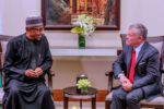 Buhari Meets The King of Jordan, Talks on Plans to Strengthen Nigeria's Economy