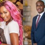 DJ Cuppy Gets Signed Jerseys From Ighalo As She Join Manchester United Club