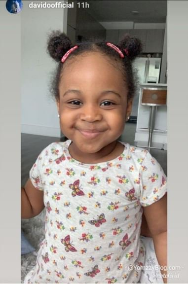 Award Winning Musician Davido Shows Off Pics Of Second Daughter