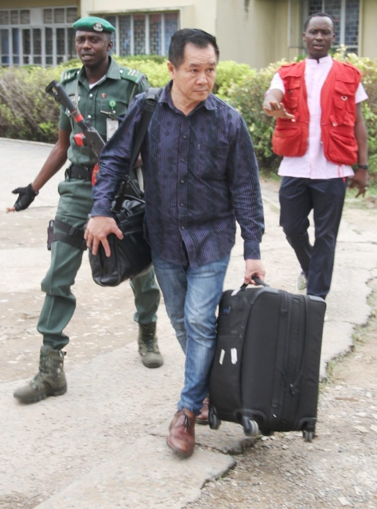 EFCC Arrest Malaysian Over €250m Fraud In Lagos (Photos)