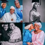 See What Buhari's Daughter Hanah Did To Family After Her Graduation From UK College