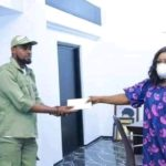 Male NYSC Member Gives Out His N33,000 Allowance To FG To Add & Fight CoronaVirus