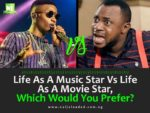 QUESTION: Between A Music Star & A Movie Star —  Whom Do You Prefer?