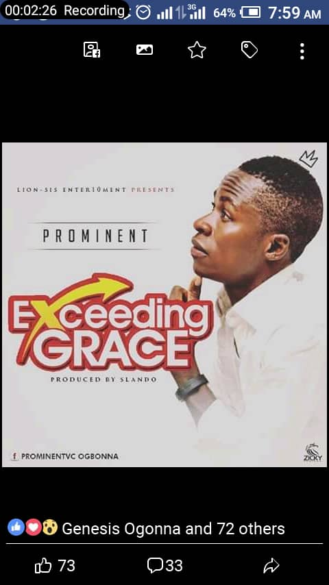 [Music] Promzee – Exceeding Grace