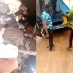 IVECO Truck loaded with 30 Almajiris Foodstuffs caught in Ogun State Highway