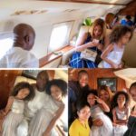 Regina Daniels Poses Impressive Pics Of Ned Nwoko in Private Jet