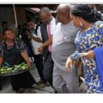 Governor Of Rivers State Nyesom And Wife Shops For Mango – Pics