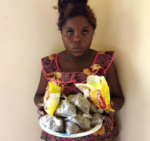 Woman Arrested For Attempting To Smuggle 39 Wraps Of Indian Hemp Into Kano Prison (Photo)
