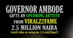 Opportunity For Upcoming Artistes To Blow » Irokviralz2fame