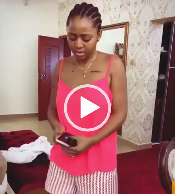Watch Regina Daniels dance wearing her husband's boxers