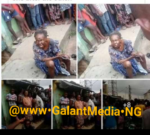 SHOCKING NEWS: – Big Bird Landed On Ground And Turned To Old Woman In Lagos … (see photo)