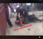 2 Police Officers Fight Seriously Over N50 On Roadside – (watch video)
