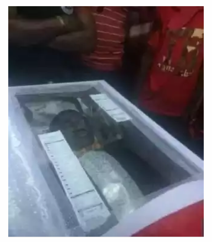 Nigerian Man Died With 2 Bet9ja Slips After Loosing N41Million Game ... (Photo)