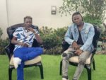2 Ghanaian Singers, Shatta Wale & Stonebwoy Settle Peace After Removing Gun On Stage At VGMA