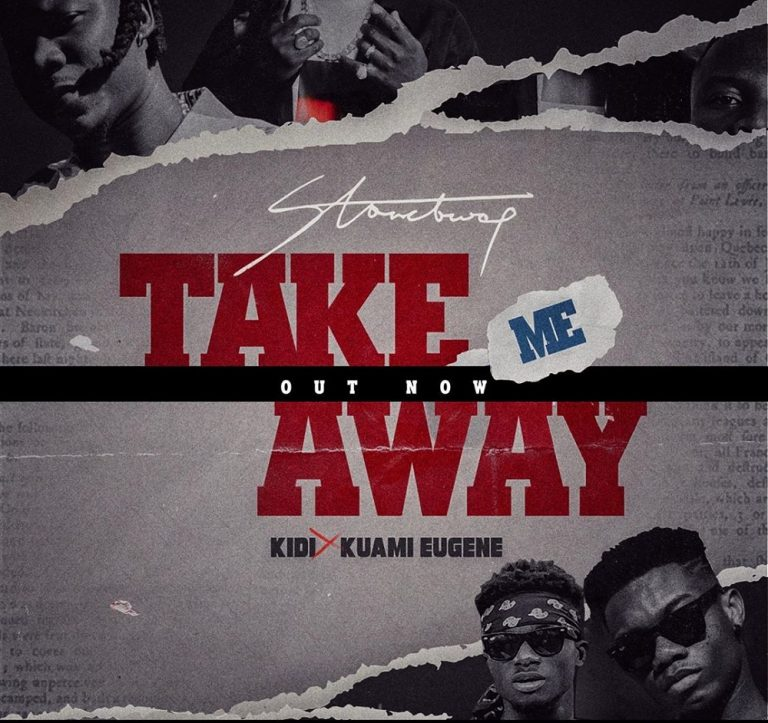 Download Music: Stonebwoy – Take Me Away Ft. KiDi, Kuami Eugene