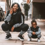 kay's report:See The Moment Tiwa Savage Requested For Kiss From Her Son (SEE VIDEO)