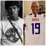"Ex US President ""Barack Obama"" Falls In Love With REMA's Song (Iron Man)"