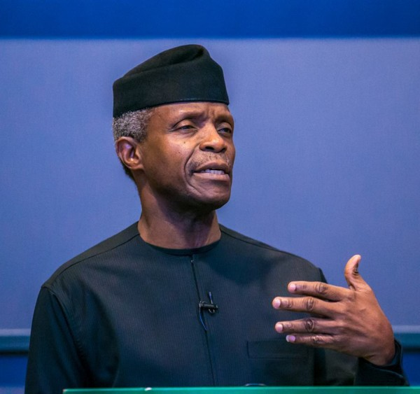 Seems VP Yemi Osinbajo Is Happy About The Rubbish Meme People Post Of Him Via Social Media