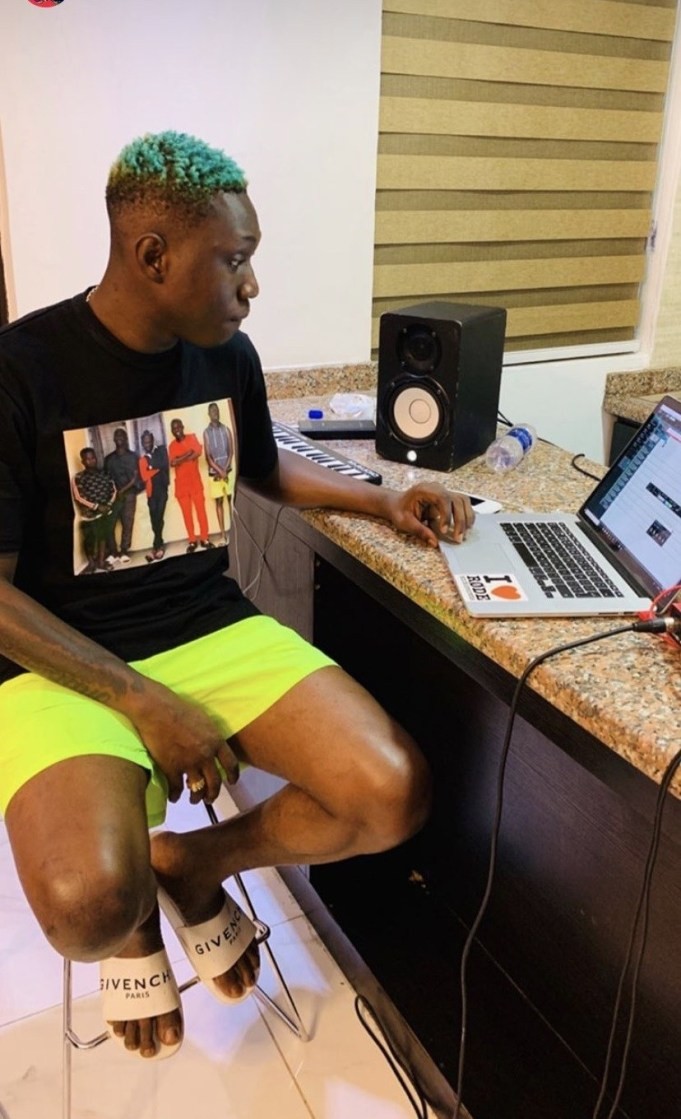 That Tattoo Zlatan Ibile Drew On His Chest, See What Fans Said