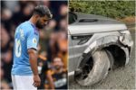 Sergio Aguero Escape Death As He Involved In Car Accident