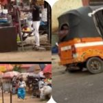 #LOCKDOWN! Men Of Underworld Breaks Into Akpan Andem Market In Uyo & Steal Goods Worth Millions Of Naira