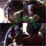 Nigerian Lady pours hot water on her husband