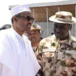KR.Buhari Commiserates With Buratai Over Mother's Death