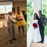Whao!! Couple Who Met At A Wedding After The Man Caught The Garter And The Woman Caught The Bouquet Gets Married