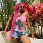 Popular Music Producer DJ Cuppy Exposes Her Hips in Sexy Pics
