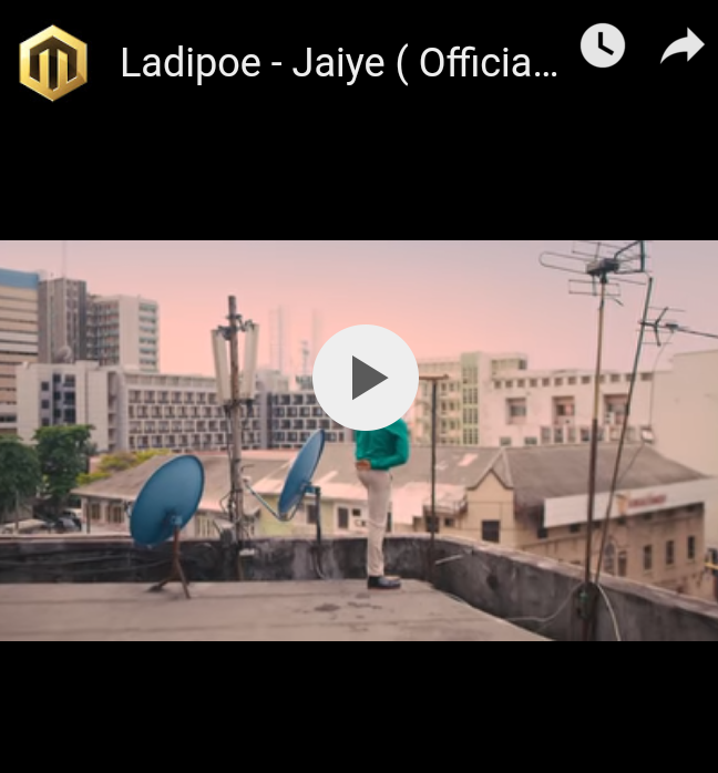 DOWNLOAD VIDEO: Ladipoe – Jaiye