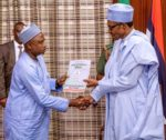 President Buhari Receives Asset Declaration Form From CCB Chairman