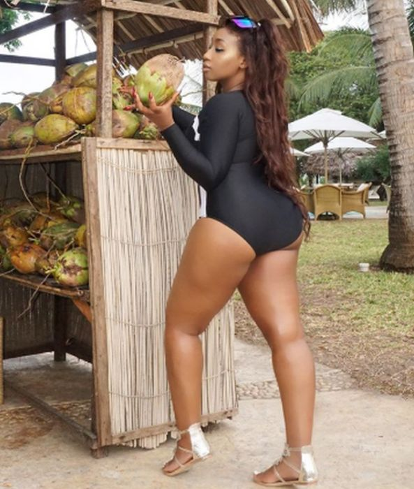 Thick BBW: Victoria Kimani Shows Her Big Booty In New Photos