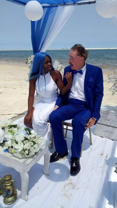 Lagos Beach:  Nigerian Lady  Marry An Elderly White Man