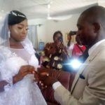 Nigerian Couples Holds Wedding Inside Their Bedroom Due To Corona Lockdown — (Watch Video)